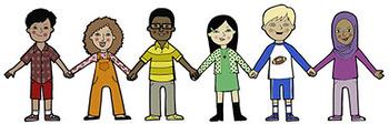 Unity Kids FREE Clip Art