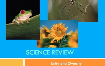 Unity and Diversity Review Game Power Point