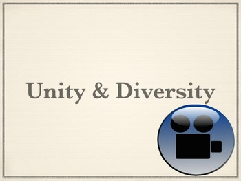 Unity and Diversity and Reproduction Cheat Sheet Answers VIDEOS