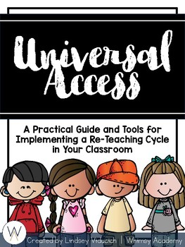Universal Access: A Practical Resource for Planning Re-Teaching and Intervention