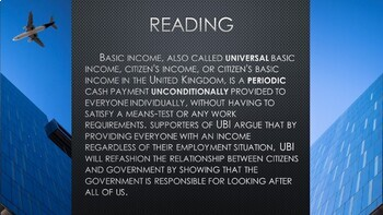 Universal Basic income lvl 11 (Distance Learning)