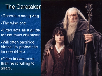 Universal Characters or Character Archetypes