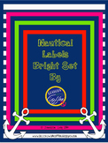 Universal Classroom Labels {Bright Nautical Set}