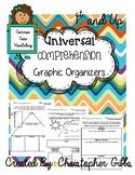Universal Comprehension Graphic Organizers (Common Core Vo