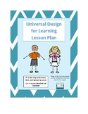 Udl lesson plans worksheets teaching resources tpt - Universal design for learning lesson plans ...