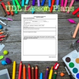 Universal Design for Learning Lesson Plan Template