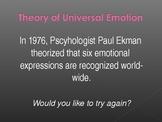 Universal Facial Expressions