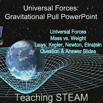 Universal Forces: Gravitational Pull PowerPoint