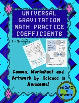 Math: Phyiscs: Gravity: Universal Gravitation Formula - Co