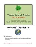 Universal Gravitation Lab