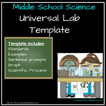 Universal Lab Template -Middle School Science Grades 6-8