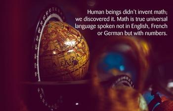Universal Language - Math Poster