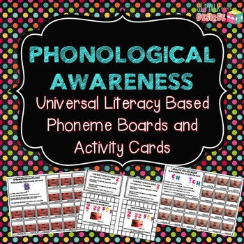 Universal Literacy Based Phoneme Boards & Activity Cards