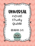 Universal Novel Study Guide for Any Book (Book Clubs or Li