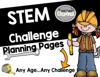 Universal STEM Challenge Planning Pages (Printable)