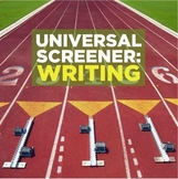 Universal Screener writing form for world language classes
