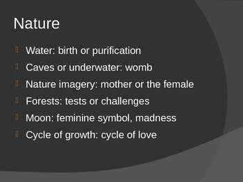 Universal Symbols in Poetry, Literature, and Film