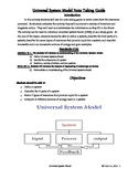 Universal System Model Note Taking Guide (STEM Activity)
