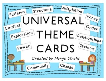 Universal Theme Cards