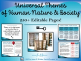 Universal Theme Interactive PowerPoint and Resources
