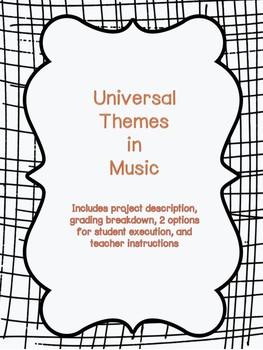Universal Theme in Music