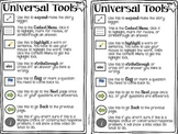 Universal Tools Smarter Balanced Test Freebie