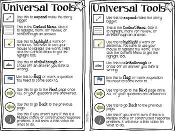 Universal Tools Smarter Balanced Test Freebie