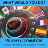 Universal Translator Critical Thinking Activity