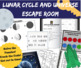 Lunar Cycle (Moon Phases) and Universe Science Escape Room - Breakout Room