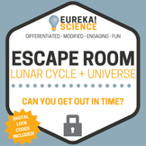 Lunar Cycle (Moon Phases) and Universe Science Escape Room