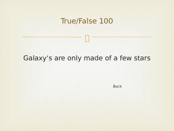 Universe Jeopardy