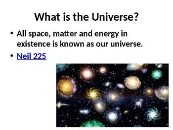 Universe Power Point Presentation