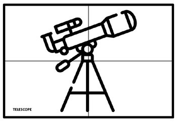 Universe, Space Collaborative Art Project, Coloring Pages, Elementary Art Plan