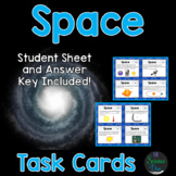 Space Task Cards - Distance Learning Compatible