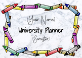 University Student Planner