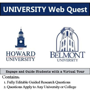 University Web Quest - Engage and Guide Students with a Virtual Tour