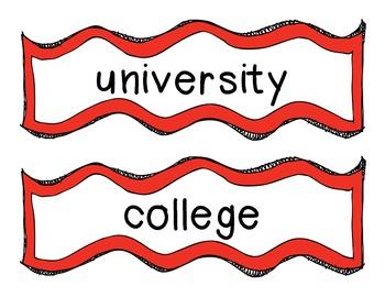 University Words