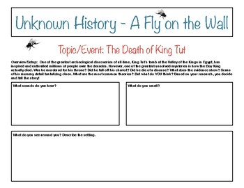 Unknown History - Fly on the Wall - Death of King Tut