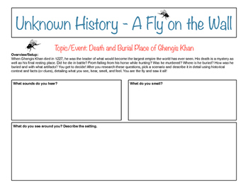 Unknown History - Fly on the Wall - Ghengis Khan Death and Burial