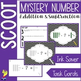 Unknown Number Scoot (Addition and Subtraction with Variab