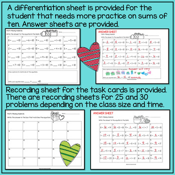 Addition and Subtraction to 20 by Sarah Winchell | TpT