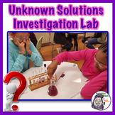 Unknown Solutions Investigation Lab - STEM Inquiry Design