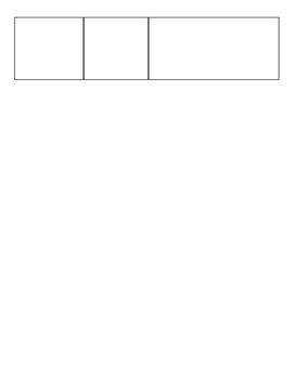 Unknown Text Structure Graphic Organizer