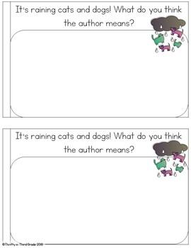 Unknown Vocabulary Interactive Mini Book {RI.3.4}