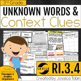 Context Clues and Unknown Vocabulary RI3.4 (Vocabulary Activities)