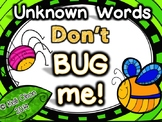 Unknown Words Don't BUG Me!: Parts of Speech Synonym Task Cards