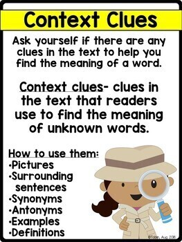 Unknown Words and Context Clues RI2.4