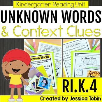Unknown Words in a Nonfiction Text RIK.4, Context Clues