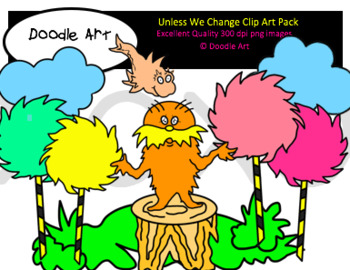 Unless We Change Clipart Pack