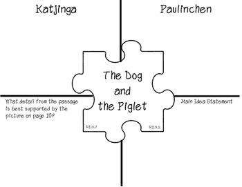 Unlikely Friendships for Kids Jigsaw Activity
